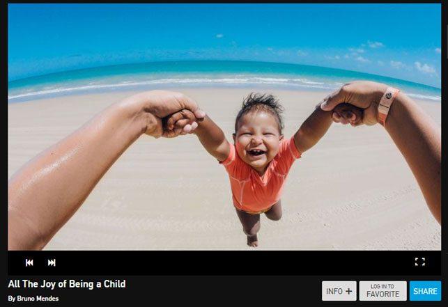 content marketing: Gopro - foto degli utenti