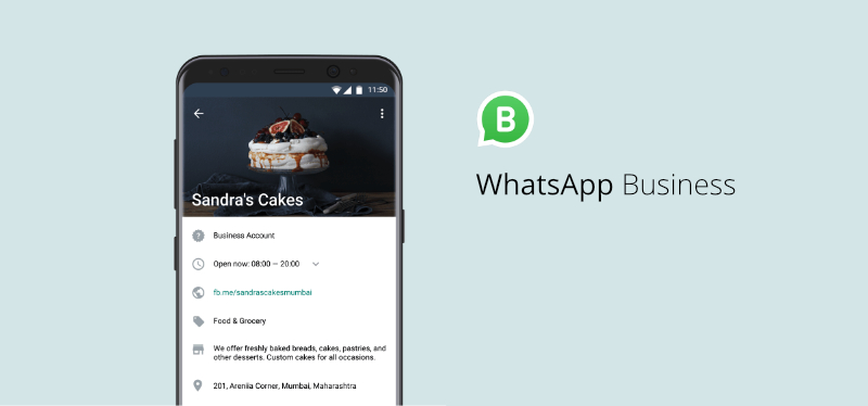 sandra's cake whatsapp business